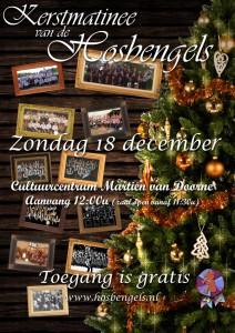 Poster kerstmatinee 2011